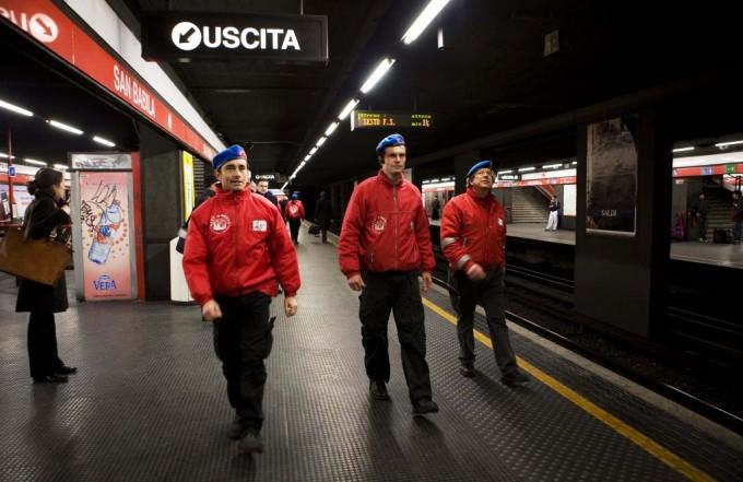 City Angels nella metropolitana di Milano