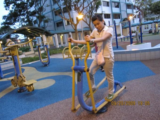 Un esempio di parco fitness a Singapore, foto di Milo Riano/flickr