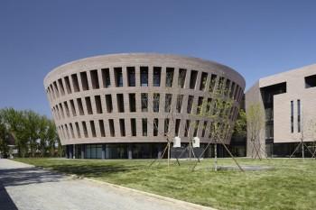 Biblioteca dell'Università Tsinghua, Pechino, Cina (2008-2011) Foto di Fu Xing
