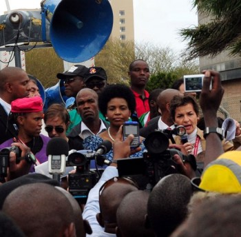 Civil society march COP17