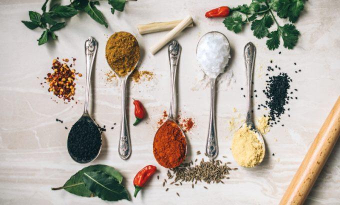 Spezie nella cucina ayurvedica