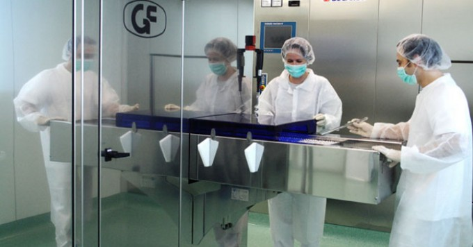 GUNA, laboratorio