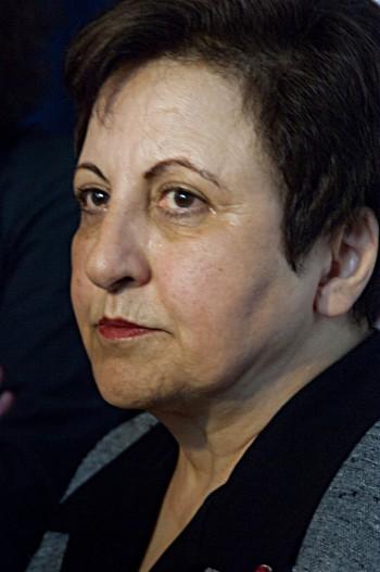 SHirin Ebadi, foto di Olivier Pacteau