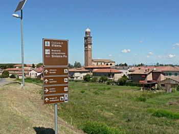 Occhiobello, itinerario ciclopedonale. foto di pattininews/flickr
