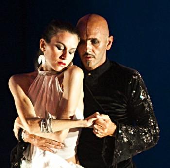 Giuseppe Lotito e Cristina Scimè, foto Rosellina Garbo