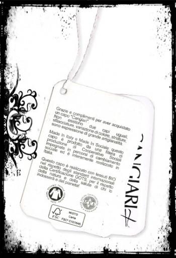 Etichetta prodotti cangiari