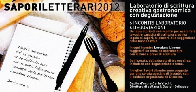 sapori laboratorio letterario laboratorio culturale cucina cibo arte culinaria
