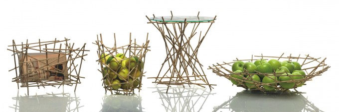 Blow up Bamboo, Green Good Design Award. Design Fratelli Campana