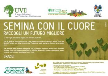 verde UVI sostenibilità Società Orticola di Lombardia seminare rispetto ambientale raccogliere piccoli ortisti orto dei fanciulli orticoltura orti urbani sostenibili orti sociali orti Martinitt giardino