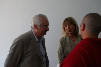 Fausto Panni, Lama Michel, Riccarda Serri a Be Wise