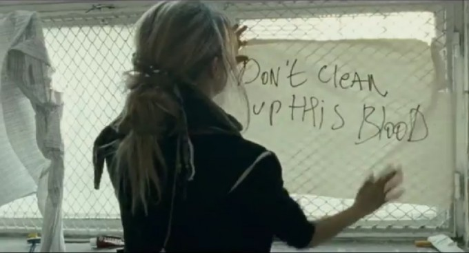 "Immagine tratta dal film, DIAZ - ""Don't clean up this blood"""