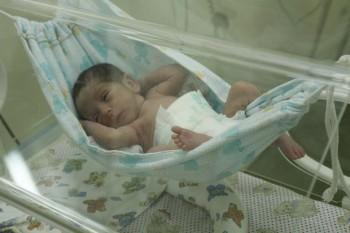 unità neonatale Parana Ospedale Universitario ospedale Maringá incubatrici HUM Brasile bambini prematuri amache amaca