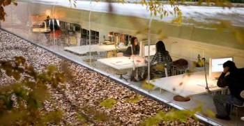 materiali ecologici Madrid Lucia Cano Josè Selgas illuminazione naturale design ecosostenibile bosco
