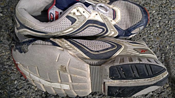 Scarpe usate