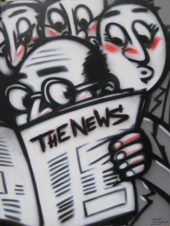 The News, foto di jcrakow/flickr