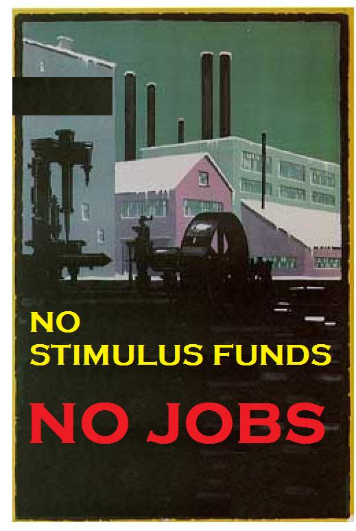 No Stimulus Funds, No Jobs - photo credit: Mike Licht, NotionsCapital.com/flickr