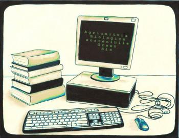 Biologico: dal Web alla libreria, foto di Marie Slim/flickr