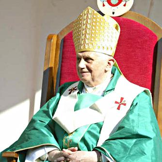 Papa Benedetto XVI, foto di stef_mec91/flickr