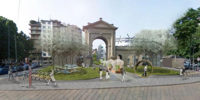 Smart City Point mobilità elettrica illuminazione a led energie rinnovabili città sostenibili barriere urbane auto elettrica