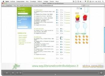 regimi alimentari bilanciati peso Iphone Ipad dimagrire diete diario alimentare controllo del peso calorie Aboca