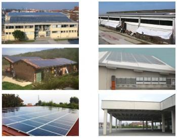 Impianti fotovoltaici in via di costruzione