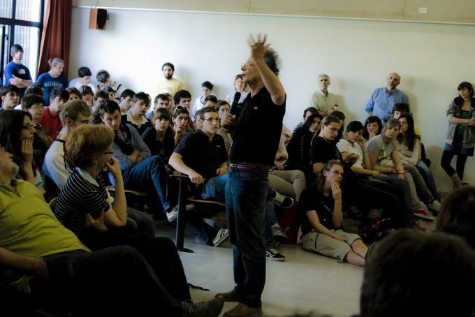 Gherardo Colombo, un incontro al Istituto Viganò di Merate - foto di opethpainter/flickr