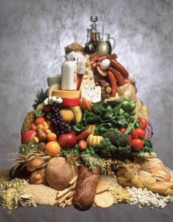 Piramide nutrizionale, Image by © Gabe Palmer/CORBIS