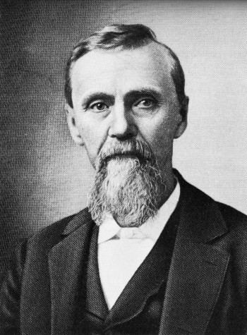 Andrew Taylor Still,  founder of osteopathy. Image by © Bettmann/CORBIS