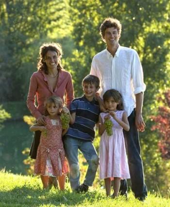 Caterina Rossi Cairo il marito Tom Dean e figli