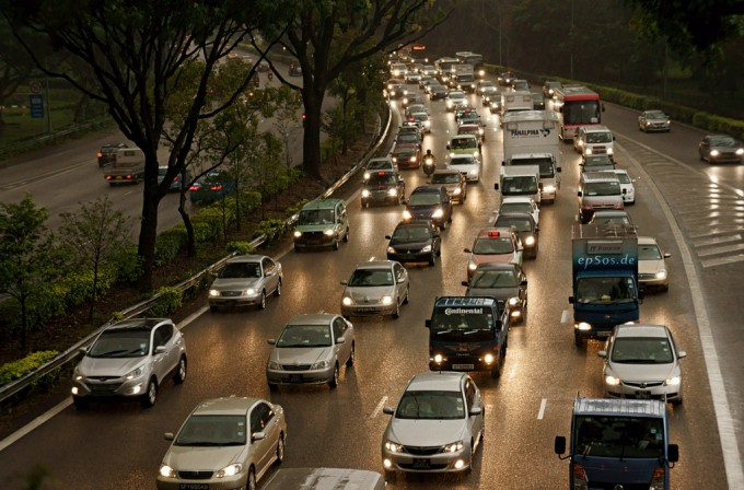 Traffico. Foto di epSos.de/flickr