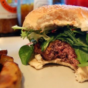 Hamburger - foto di su-lin via flickR