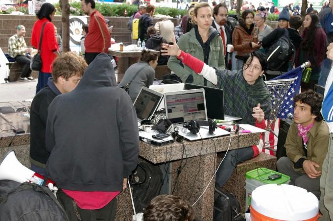 Day 3 Occupy Wall Street 2011, photo by David Shankbone/flickr