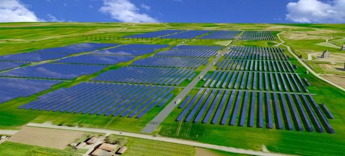 parco solare parco fotovoltaico OneGiga energie rinnovabili energia solare energia elettrica Belgrado