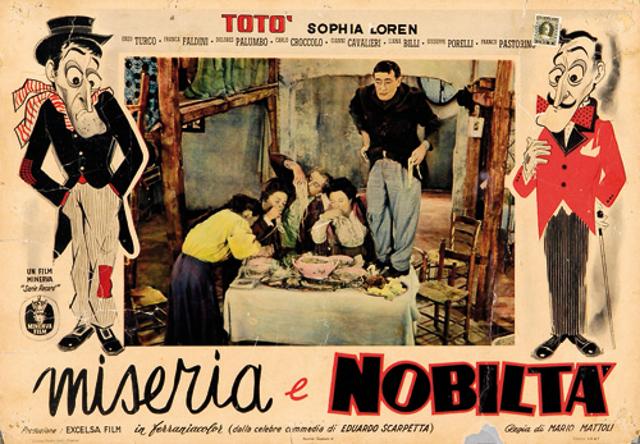 Locandina del film Miseria e nobiltà
