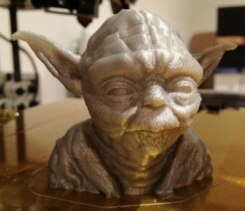 Maestro Yoda, esempio 3D