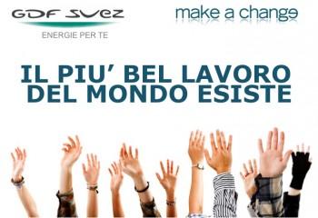 sviluppo sostenibile responsabilità sociale dImpresa Make a Change imprenditoria sociale imprenditori sociali GDF Suez business sociale