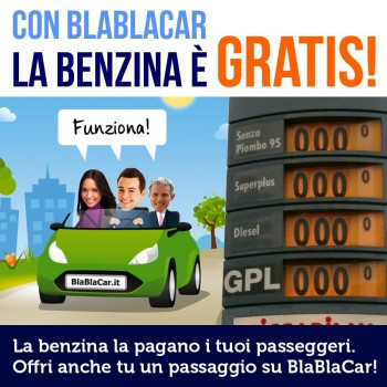 inquinamento emissioni di CO2 car sharing BlaBlaCar