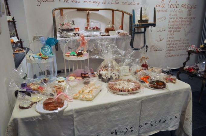 temporary shop Natale Francesca DOrazio Buonerba Fiocchi di zucchero dolci Ambra Romani