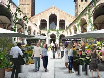Flora et decora alla Basilica di Sant'Ambrogio