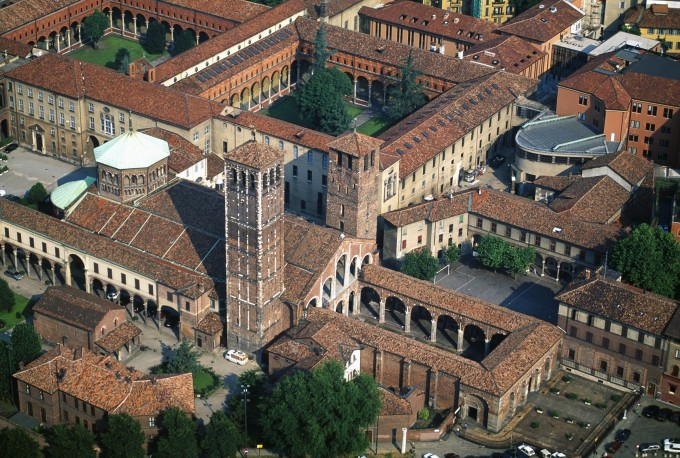 Basilica Sant' Ambrogio, Milan