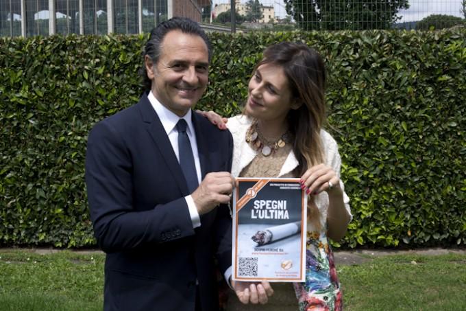 Cesare Prandelli e Novella Benini - Fondazione Veronesi