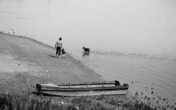 vivere con lentezza The River Water the man on the river Paolo Muran Giacomo De Stefano Clodia campeggio fluviale