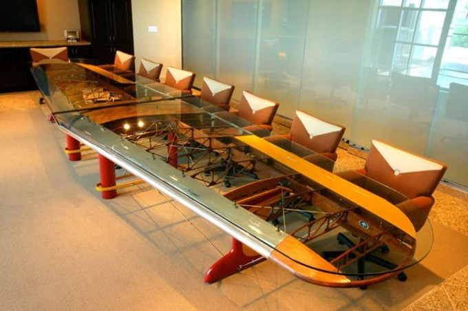 Wing Conference Table by MotoArt