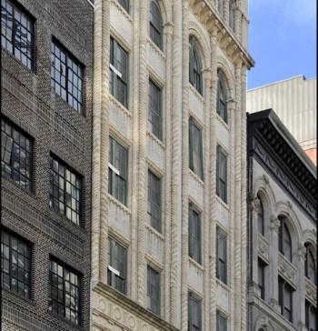 L'edificio della 11a strada di New York