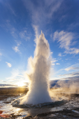 Strokkur (the Churn), Geysir, Golden CircleIceland