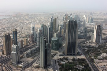 Abu Dhabi (Photo taken from the Burj Khalifa)