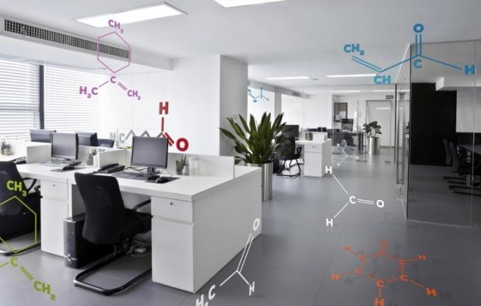 Inquinamento ambientale in ufficio