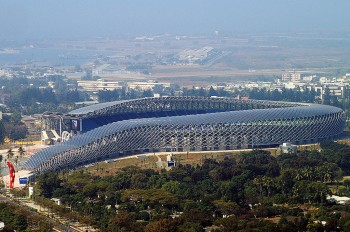 Kaohsiung National Stadium - By Peellden, via Wikimedia Commons