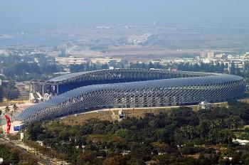 Kaohsiung National Stadium - By Peellden, via Wikimedia Commons