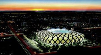 stadi pannelli fotovoltaici Mage Solar Stadion Kaohsiung National Stadium Fifa World Cup 2014 energia solare Brasile Amsterdam ArenA